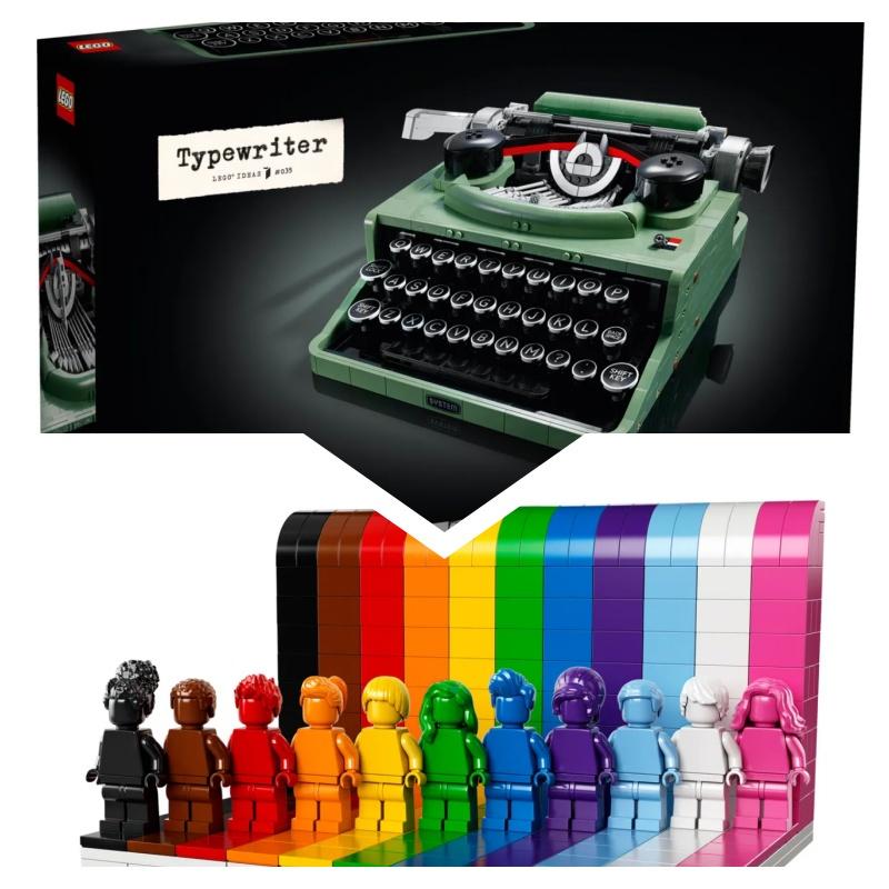 Lego 21327 Typewriter打字機+ 40516 everyone is awesome