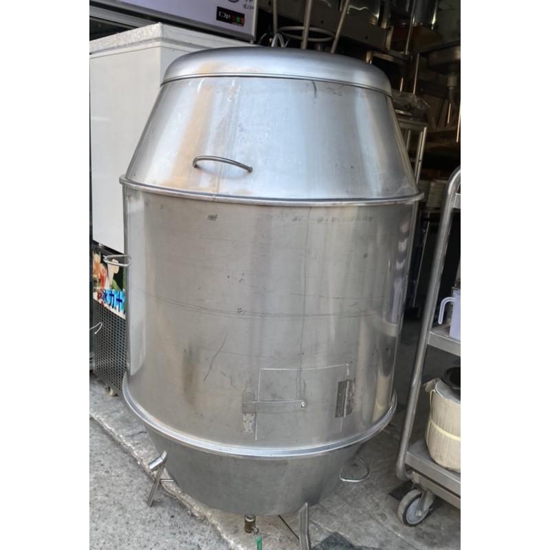 二手兩尺八白鐵烤鴨爐/白鐵烤鴨爐/二手烤鴨爐