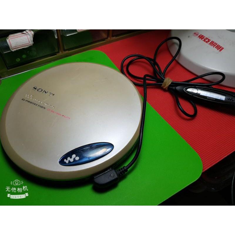 二手新力sony(d-ej775)cd隨身聽,測試過,功能正常,附原廠線控頭,請自備耳機與電池