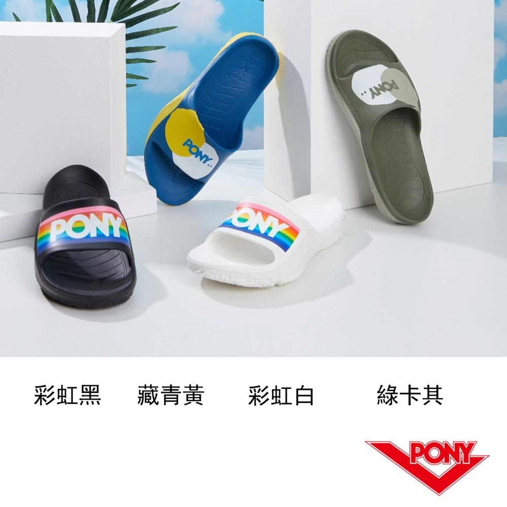PONY PARK-X 防滑運動拖鞋 中性款-共4款