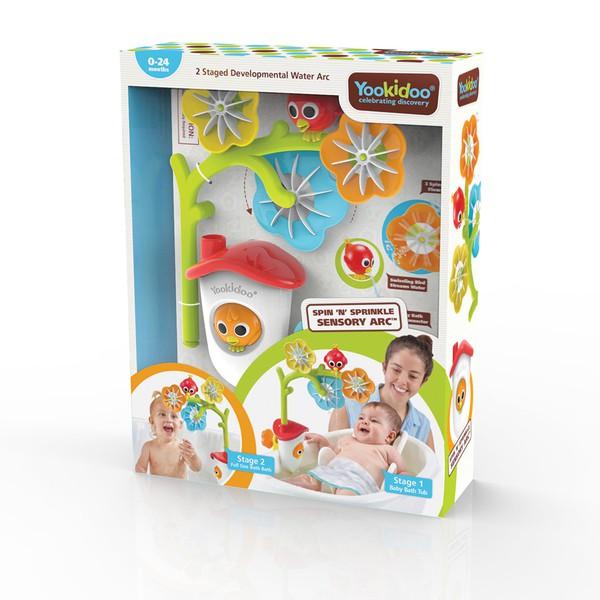 以色列 Yookidoo 戲水玩具花兒轉轉灑水組