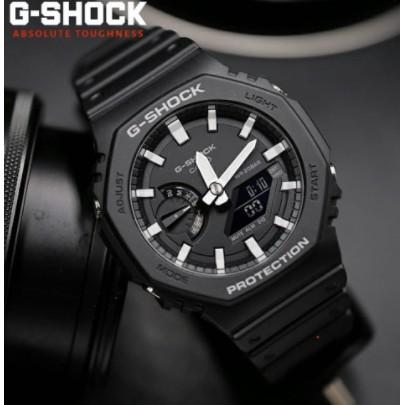 CASIO G-SHOCK 農家橡樹雙顯錶  GA-2100-1A