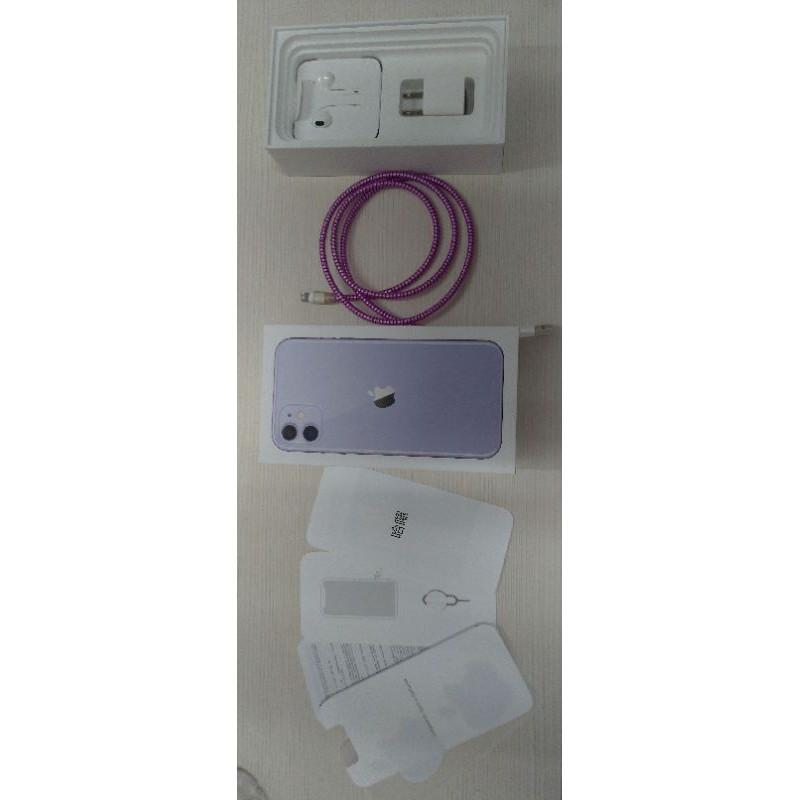 IPhone11 128G 紫色,可換Pixel 4a(5G)