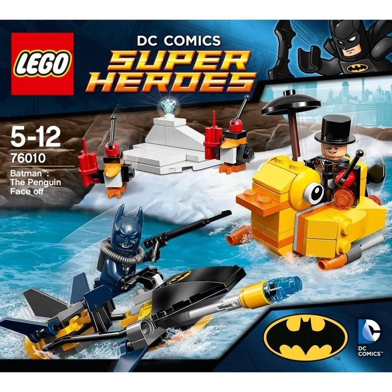 LEGO 樂高 超級英雄系列-76010 蝙蝠俠對決企鵝人