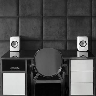KEF LSX HiFi 牛仔藍 魔力紅 神秘黑 象牙白 電腦 主動喇叭 音箱 平行輸入 可面交 桃園市