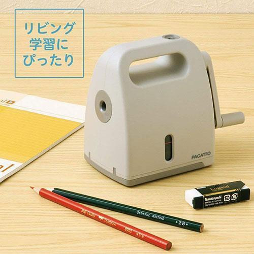 NAKABAYASHI PACATTO 半自動削鉛筆機 湖水藍 / 米白色