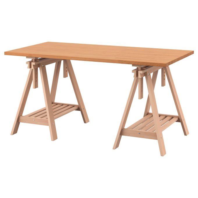 北歐工業LOFT風格IKEA宜家GERTON/FINNVARD電腦桌工作桌書桌/155x75/二手八成新/特$5500