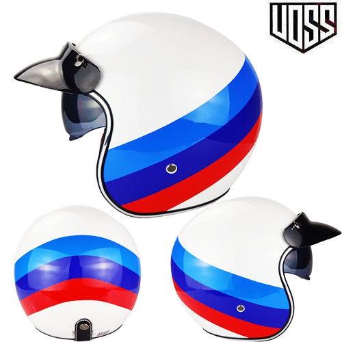 【風哥有貨潮】VOSS復古哈雷頭盔男女半盔踏板機車頭盔半覆式安全帽3/4盔個性酷