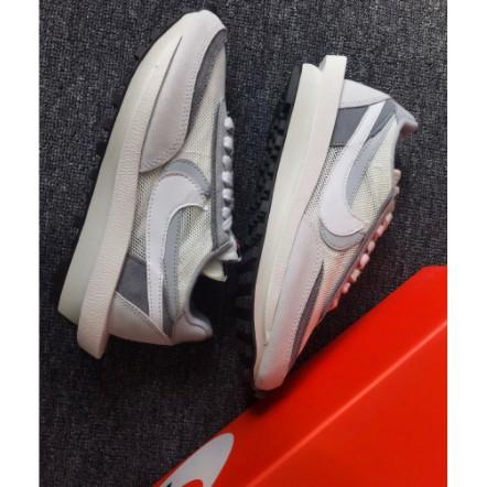 全新 Nike LD Waffle Sacai Grey White BV0073-100 白 灰 灰白 男 女