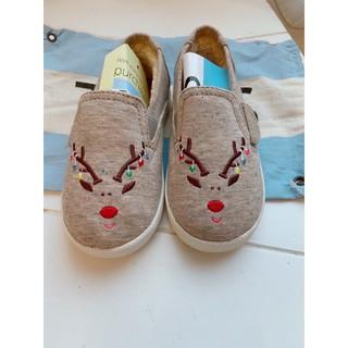 Toms 秋冬款 麋鹿 男女寶寶鞋 內鋪毛