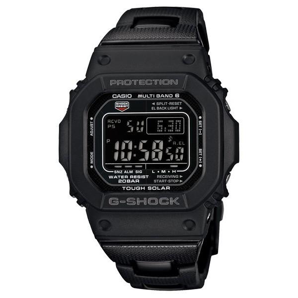 【CASIO】卡西歐 G-SHOCK  複合式錶帶 太陽能 電波錶 GW-M5610BC-1 臺灣卡西歐保固一年