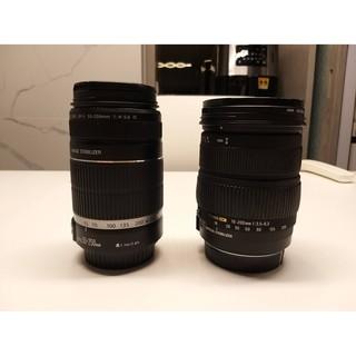 Canon 55-250 F4 Sigma 18-200mm F3.5 變焦鏡頭 單眼鏡頭 旅遊鏡頭 臺北市