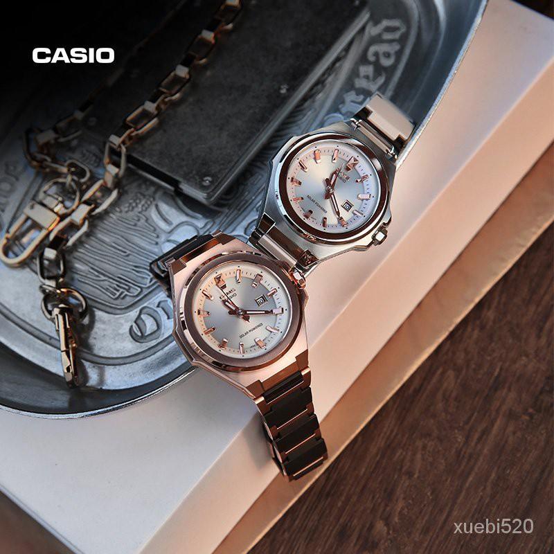 【熱售】casio旗艦店MSG-S500CG時尚商務女士手錶卡西歐官網官方BABY-G LV6L