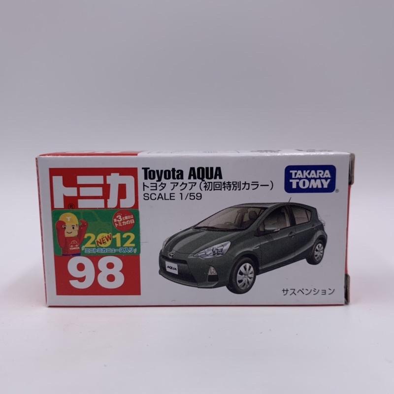 Tomica No.98 Toyota AQUA 初回色