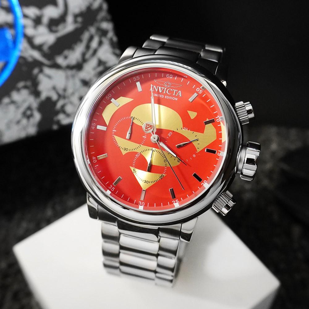 INVICTA 英威塔|DC正義聯盟限定版 (超人)-計時碼錶