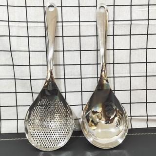仙德曼 304不銹鋼調理漏杓 調理湯杓  一體成型 撈麵杓 漏杓 新北市