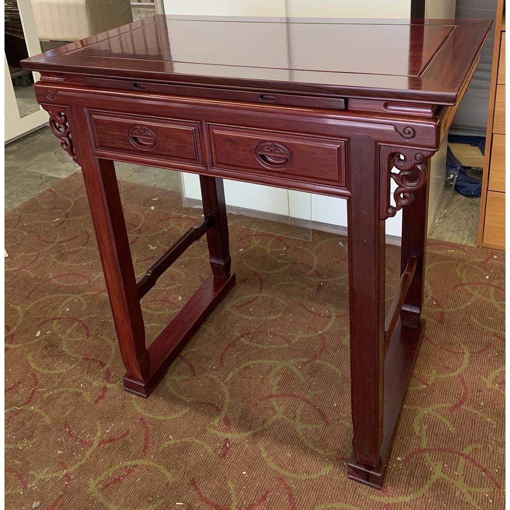 盡其用二手家具生活館 保存佳三尺半紅木神明桌/神桌/佛桌/供桌/神明桌(有玻璃) 自取價7800