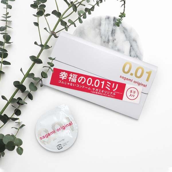 相模001 Sagami-相模元祖-超激薄保險套 5入裝 002 0.01 避孕套 衛生套