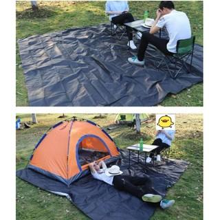 防水地墊送收納袋<300X300> 加厚PE淋模 地布 防水墊 防潮墊 帳篷墊 野餐墊 防雨遮陽天幕 地席 台南市