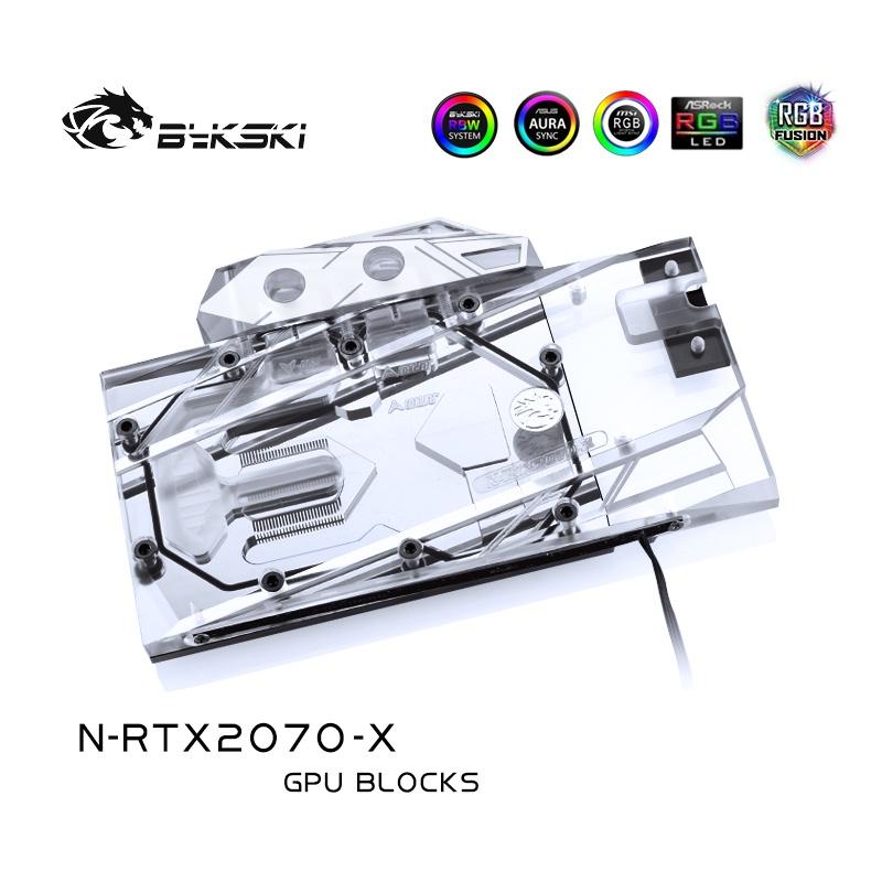 Bykski N-RTX2070-X 顯卡水冷頭 NVIDIA 公版 RTX2070/映眾 2070