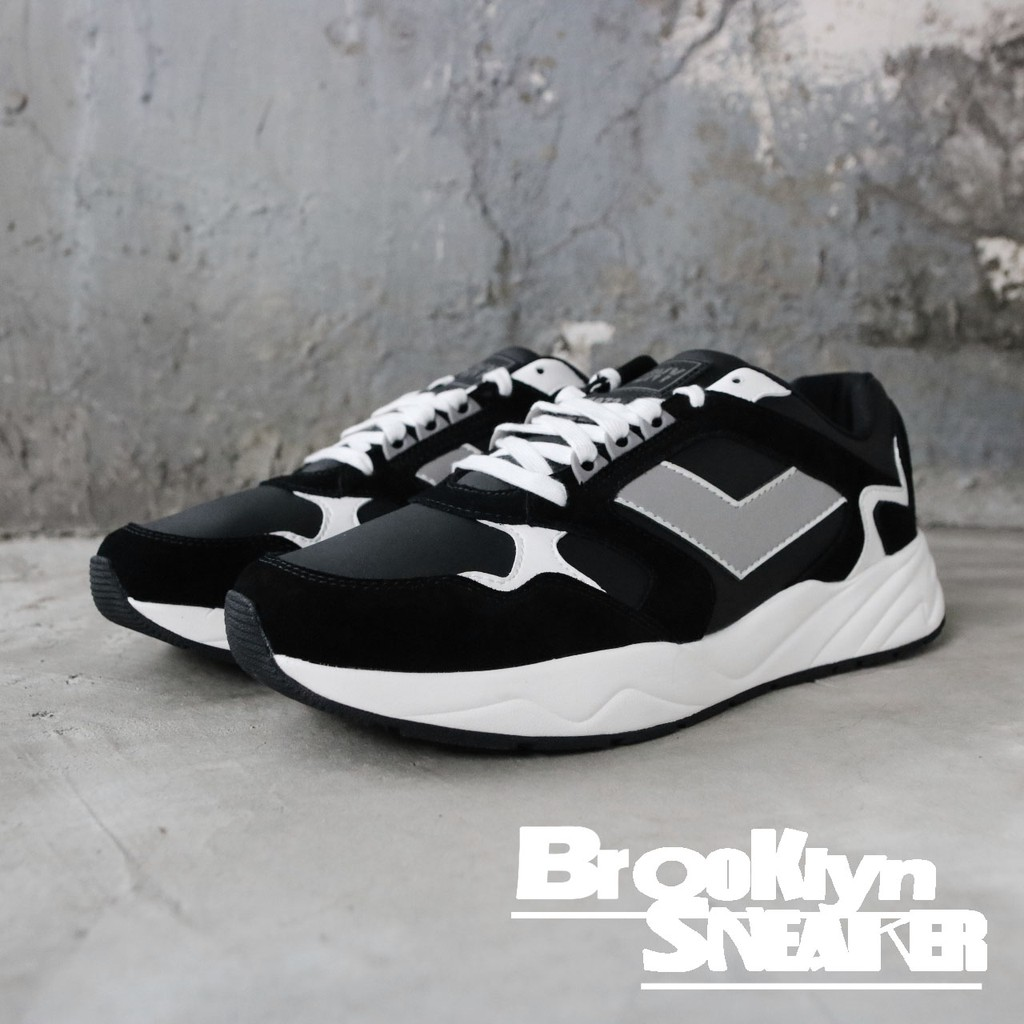 PONY MODERN 黑白 麂皮 皮革 老爹鞋 男女 (布魯克林) 男91M1MD01BK 女91W1MD01BK