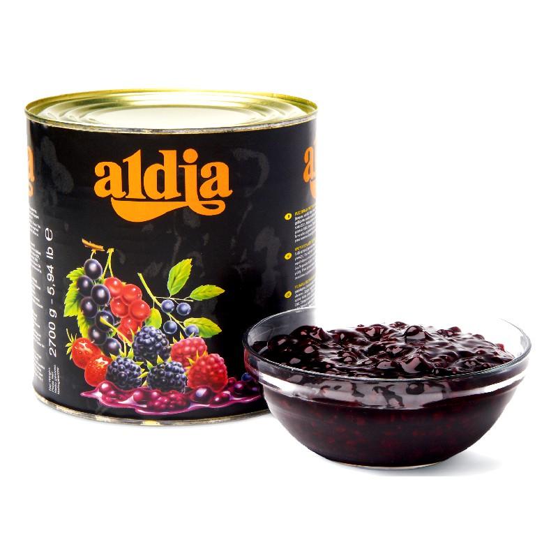 【德麥食品】 比利時 aldia愛迪亞 森林水果餡(綜合莓果) /2.7kg