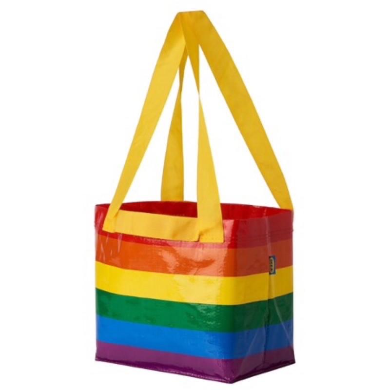 STORSTOMMA x IKEA 彩虹購物袋