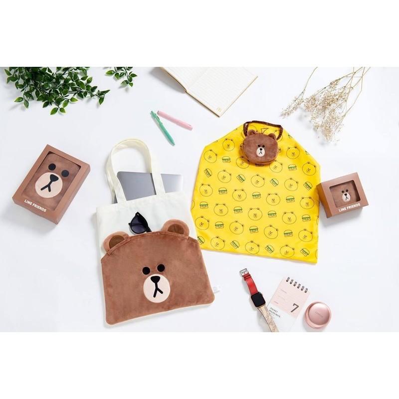 麥當勞聯名熊大環保袋