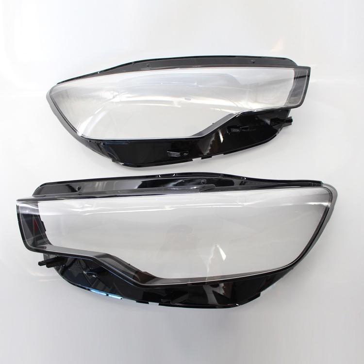 12-15年奧迪Audi A6大燈罩 車燈燈罩 PC透明大燈面罩 大燈殼