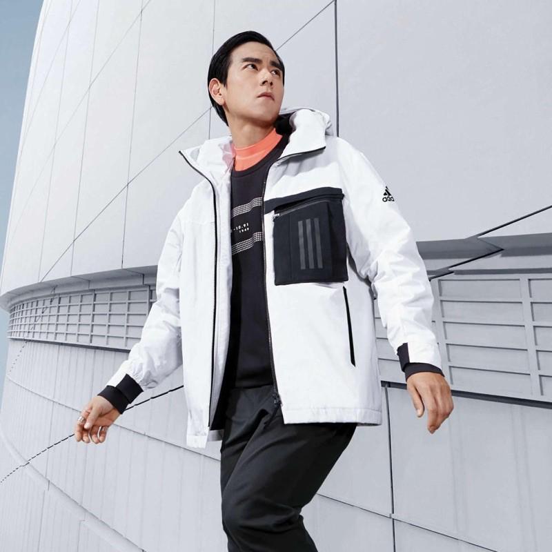 -BS- Adidas WB Travel Jacket 拉鍊小包 風衣外套 FM9394