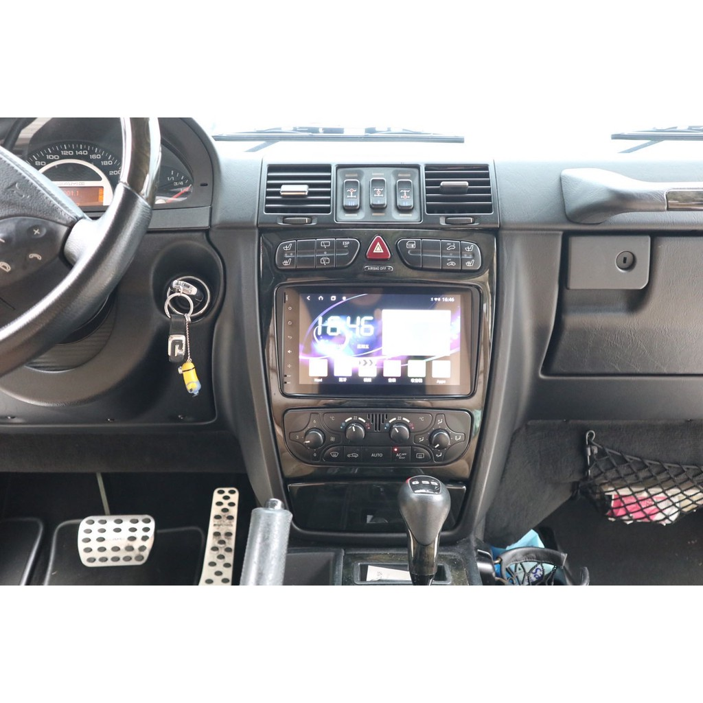 M-Benz 賓士 W168 W203 CLKC209 W209 Android安卓版 觸控螢幕主機 導航/藍芽/USB