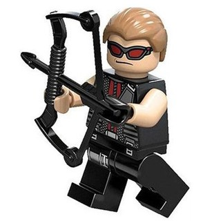 LEGO 樂高 超級英雄人偶 復仇者聯盟 鷹眼  配武器  sh034 6867 6868 2012年 新北市