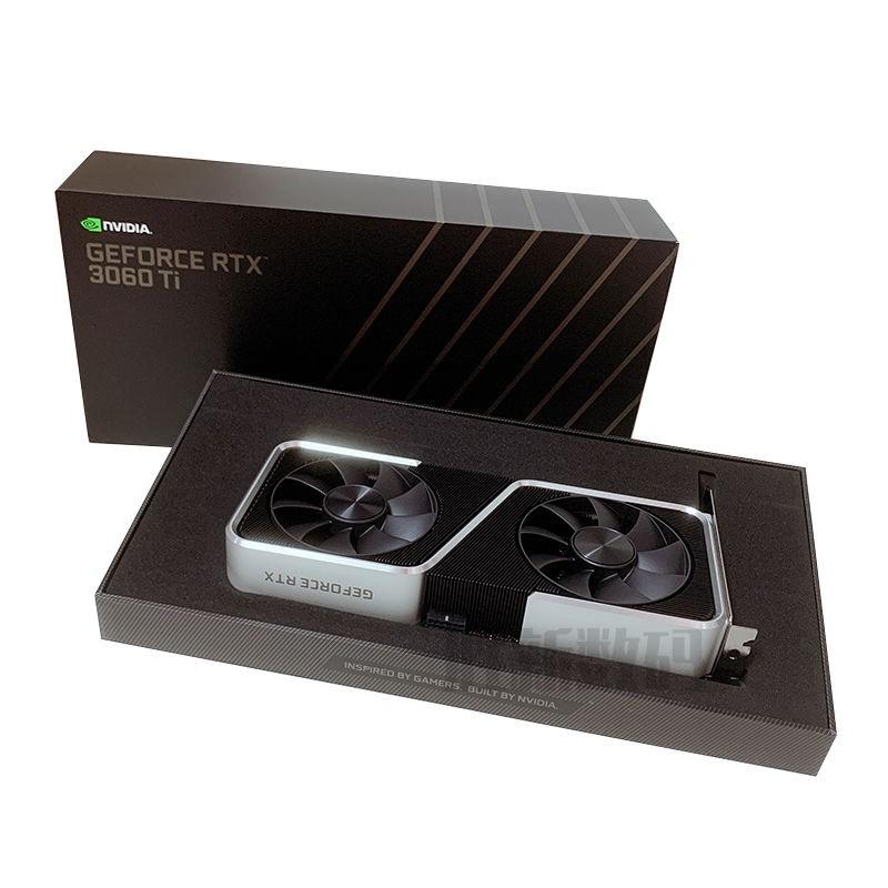 📢火爆熱賣現貨英偉達NVIDIA RTX 3060 Ti 原廠公版顯卡 8G 3090/3080/3070