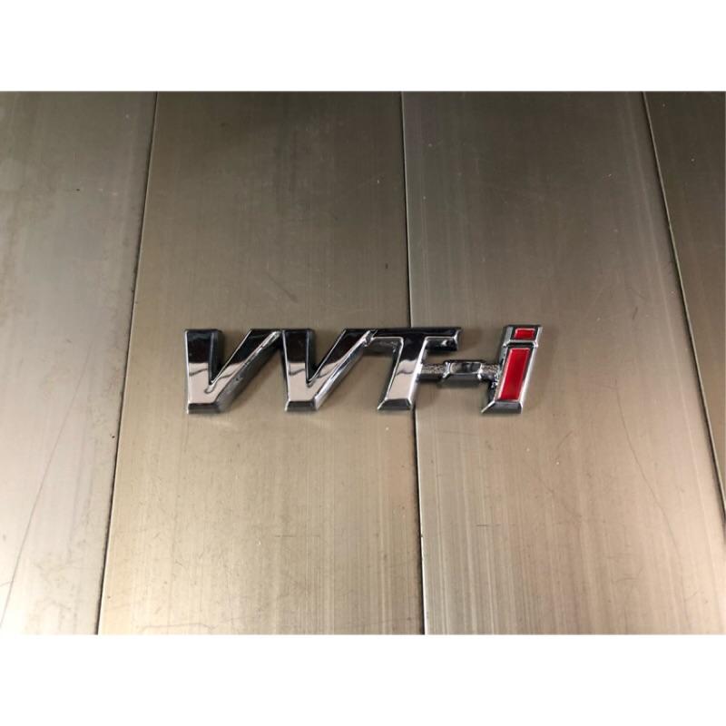 TOYOTA 前葉子板標誌 VVT-i ALTIS VIOS CAMRY WISH