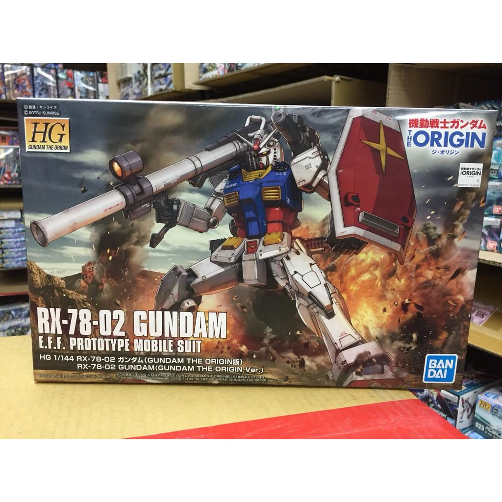 萬代 HG 鋼彈ORIGIN RX-78-2鋼彈 GUNDAM THE ORIGIN Ver. 5058929