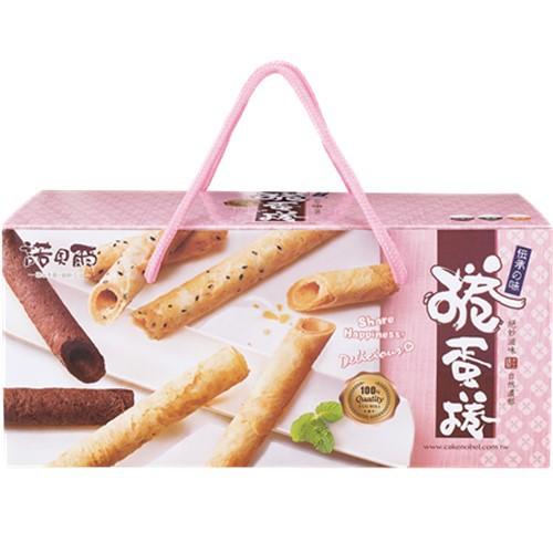 【諾貝爾奶凍】捲蛋捲(綜合)四入禮盒