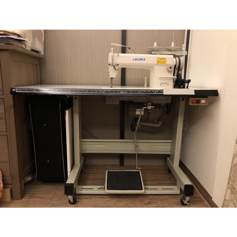 二手工業用平車 縫紉機 8成新 少用 功能正常工業縫紉機 JUKI型號5530