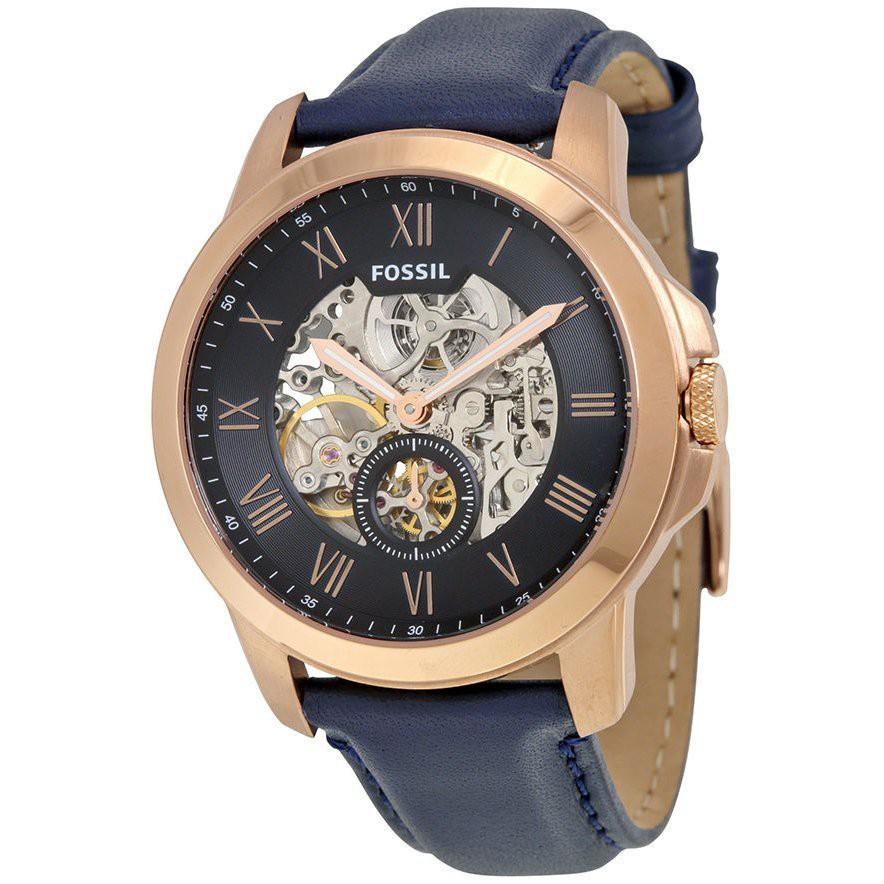 FOSSIL手錶 ME3054 前後鏤空 羅馬面盤 獨立秒針 機械錶款 錶現精品 原廠正貨