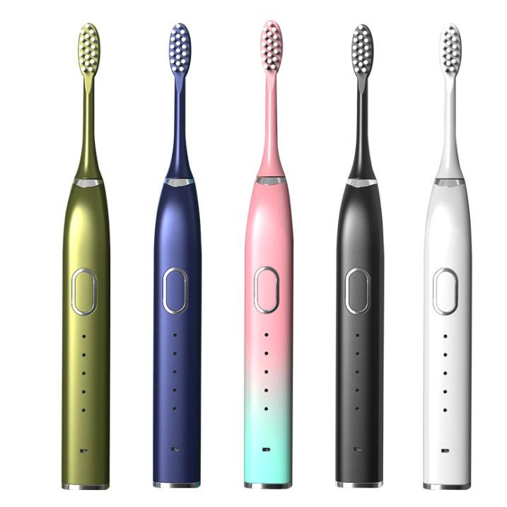 電動牙刷 家用充電式 智能牙刷頭 電動沖牙器 潔牙器 磁懸浮聲波式 成人電動牙刷