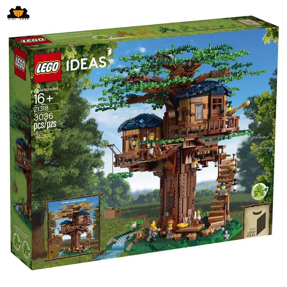 🔥🔥樂高21318【樂高熊】IDEAS系列樹屋全新未拆保證正版#維克