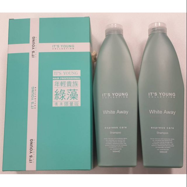 年輕貴族▪︎綠藻🔥高效率洗髮精🔥傳承限量版 1瓶500ml 現貨💯正品公司貨 綠藻第三代 綠藻洗髮精 綠藻高效率洗髮精