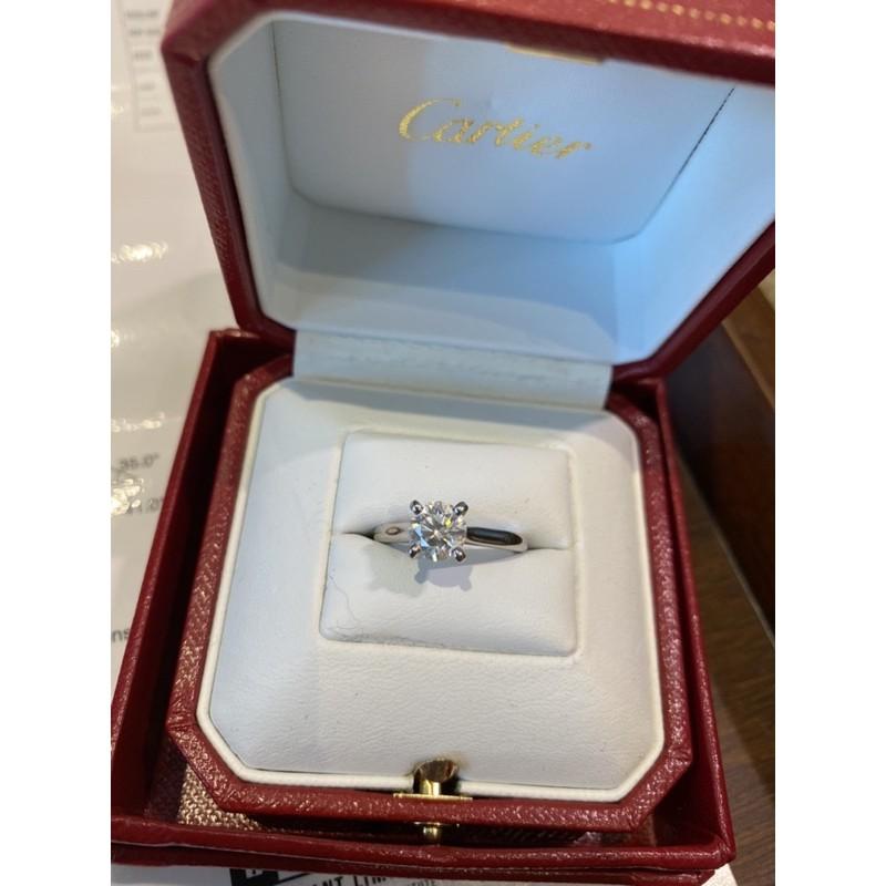 Cartier 1.03克拉 鑽戒 結婚 求婚 微風廣場購入