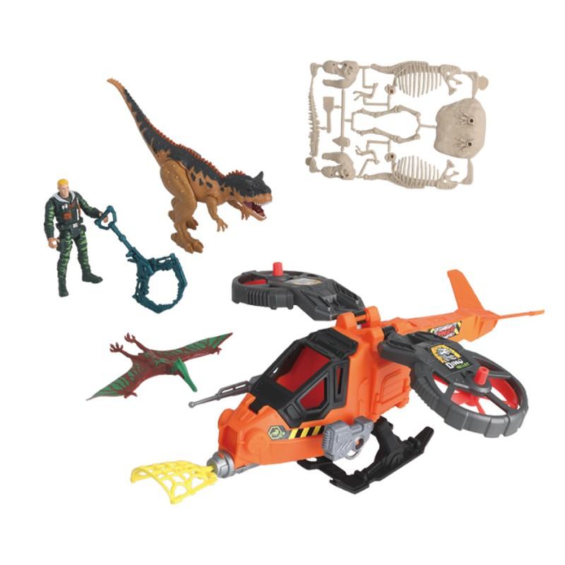 DINO VALLEY 恐龍谷-直升機救援組 玩具反斗城