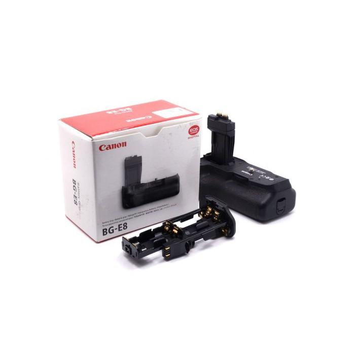 【台中青蘋果3C】Canon BG-E8 二手 電池手把 650D 600D 550D 適用 #25251