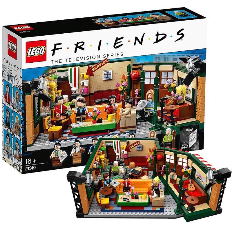 LEGO樂高ideas系列美劇老友記21319小顆粒積木16歲+玩具收藏