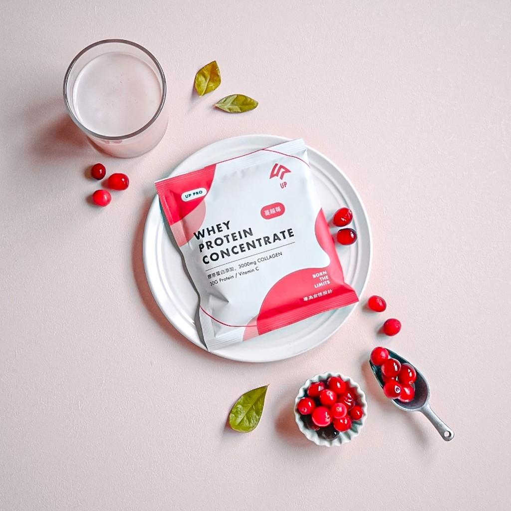 【UP】乳清膠原蛋白3入試飲組-蔓越莓 (50g/3包)