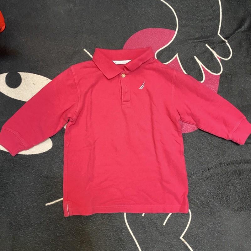 Nautica 女童polo衫