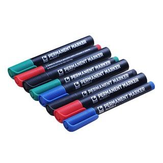 💦熱銷💦正品STA斯塔8220油性記號筆勾線筆2.0mm紅藍黑綠多用途8120箱頭筆