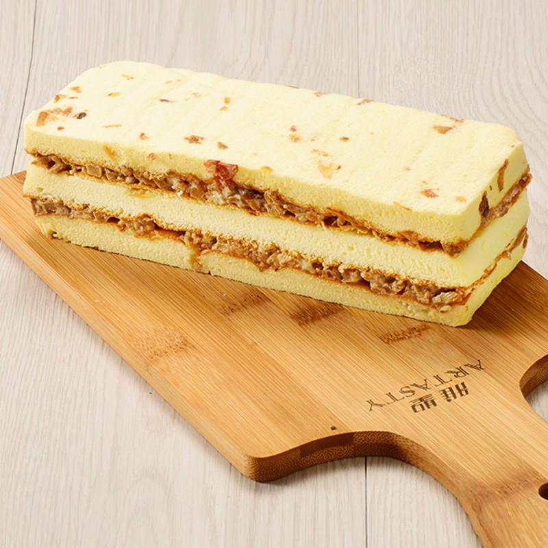 招牌滷筍鹹蛋糕禮盒300g 100%全鮮奶不加水 雅聖烘焙家