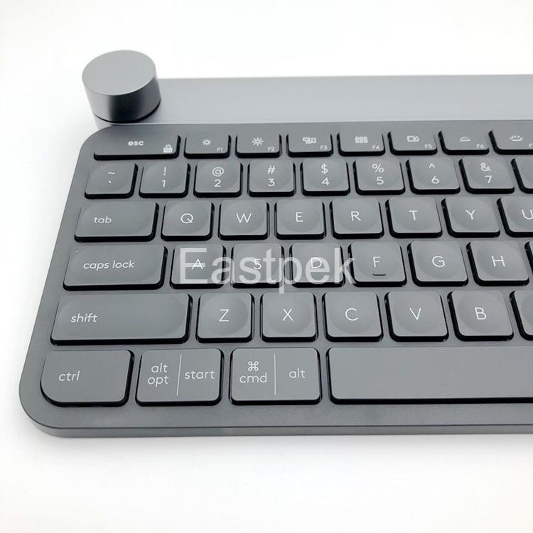 Eastpek用於Logitech鍵盤蓋MX KEYS的矽膠鍵盤蓋超薄保護皮MK240,MK270,MK275,MK23
